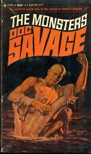 DOC SAVAGE #7 The Monsters by Kenneth Robeson (1965) Bantam pb