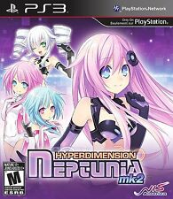 Hyperdimension Neptunia mk2 [PlayStation 3 PS3, Sequel Anime JRPG Game] NEW