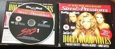 DVD x2 - SINS & PASSIONS - HOLLYWOOD WIVES, SINS 1 - NEWSPAPER PROMOTION