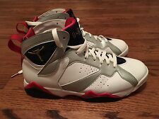 2012 Jordan Retro 7 VII Olympic Size 10 304775-135 White Red Blue Silver w/ Box