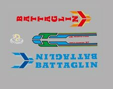Battaglin vélo stickers, transferts, des stickers-bleu / rouge N. 30