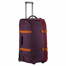 Kathmandu Split Level 100L Wheeled Luggage Trolley Travel Suitcase Bag Lock New