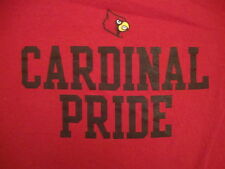 NCAA Red Louisvillei Cardinals Baseball Cardinal Adidas T Shirt L free us ship