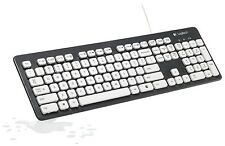 Brand Logitech Washable Waterproof Keyboard FingerboardK310 for Windows PCs