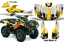 Can Am AMR Racing Graphics Sticker Kits ATV CanAm Outlander SST Decals 2012 CX Y