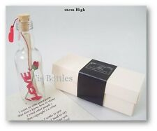 PERSONALISED Romantic MESSAGE IN A BOTTLE  Will You Marry Me? Keepsake