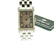 LORENZ Portoro lady acciaio e diamonds quadrante mother of pearl  025533BB