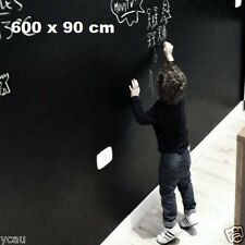 Chalkboard Sticker 600x90cm Wall Decal DIY Blackboard Sticker Removable Soft New