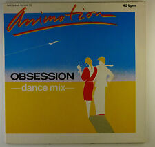 """12"""" Maxi - Animotion - Obsession (Dance Mix) - L5536c - washed & cleaned"""