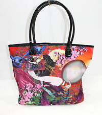 ED HARDY VILLAIN BY MIGUEL PAREDES MULTICOLORED LADIES LARGE HANDBAG /TOTE BAG