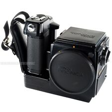 Zenza Bronica SQ-Am 6x6 Motorized Body Medium Format Camera + Split Image Screen
