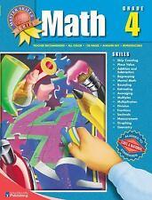 Master Skills Math, Grade 4-ExLibrary