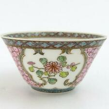 18th century chinese coquille d'oeuf porcelaine vin tasse, yongzheng période