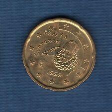 Espagne - 1999 - 20 centimes d'euro - Pièce neuve de rouleau -