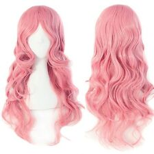 Fast Ship Long Hair Cosplay Wig Hight Quality Synthetic Hair Costume Full Wigs