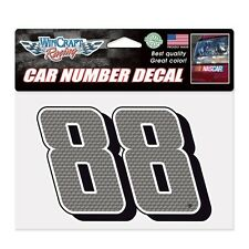 Dale Earnhardt Jr Wincraft #88 Car Number Decal 7 x 4.75 FREE SHIP!