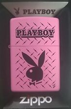 ZIPPO LIGHTER  PINK MATTE  PLAYBOY issue 11