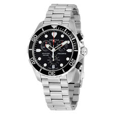 Certina DS Action Chronograph Black Dial Stainless Steel Mens Watch