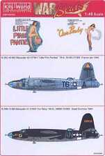 Kits World Decals 1/48 MARTIN B-26 MARAUDER Little Pink Panties & Our Baby