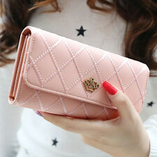 Lady Women Clutch Long Purse Leather Wallet Card Holder Handbag Bags PK