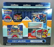 POKEMON 2016 WORLD CHAMPIONSHIP DECK, NINJA BLITZ, CODY WALINSKI, GRENINJA BREAK