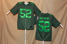 CLAY MATTHEWS Green Bay Packers NIKE DRENCHED sewn name JERSEY Small  NWT $135