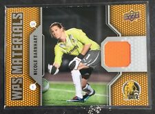 2011 Upper Deck WPS Materials Nicole Barnhart Jersey Card USA Soccer