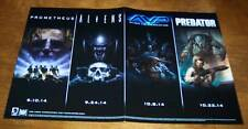 "ALIENS Vs PREDATOR PROMETHEUS AVP Dark Horse PROMO POSTER NEW 11"" X 17"""