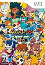 NEW Inazuma Eleven Go: Strikers 2013 [Japan Import] level 5 Nintendo Wii Game