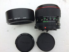Canon FD 50mm f/1.2 L Lens EXCELLENT AAA+++