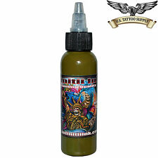 Infinitii Tattoo Ink 2oz - Army Green
