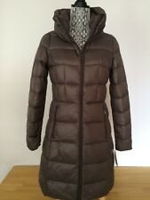 $190  MICHAEL KORS  Mocha  Quilted  90%  Packable  Down  Jacket Coat size L