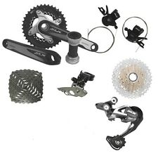 New SHIMANO SLX M670 2x10 Speed MTB Groupset 7 pcs, SLX M670 Double Groupset
