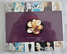 Madonna You'll See CD Single and Calendar. Ex. Condition.
