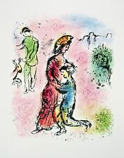 Ulysses Makes Himself Known (The Odyessy) 1989, Ltd Ed Lithograph, Marc Chagall