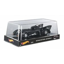 1989 BATMAN RETURNS BATMOBILE 1/24 DIECAST CAR MODEL BY HOTWHEELS BLY51