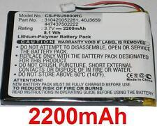 Batterie 2200mAh type 310420052281 40J3659 447437502222 Pour Philips RC9800I/17