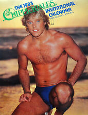 AUTOGRAPED COPY Chippendales Invitational Calendar 1983 (COLLECTOR'S ITEM)