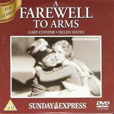 WW1 = A FAREWELL TO ARMS star GARY COOPER HELEN HAYES = PROMO VGC