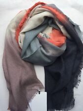 Paul Smith Women Scarf Dip Dye Made In Indian
