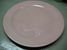 TAYLOR SMITH TAYLOR LURAY  CHOP  PLATTER PINK  14 & 1/4''  FLAWLESS