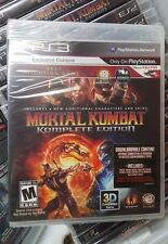 Mortal Kombat Complete Edition (Sony PlayStation 3,2012) New 1st release Edition