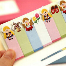FD3368 Cute Girl Sticker Bookmark Marker Pads Index Flag Sticky Notes 120 pages♫