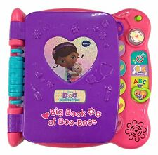 NEW Disney Doc McStuffins Discover And Learn Big Book Of Boo-Boos By VTech