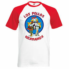 Los Pollos Hermanos Chicken Breaking Bad Tshirt Top Unisex Tee Walter Heisenberg