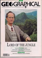 the geographical magazine-JAN 1991-LORD OF THE JUNGLE.