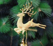 Christmas Reindeer Deer Elk Chital Tree Hanging Ornament Decor Baubles Xmas Gift