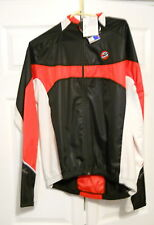 Spiuk cycling jacket in red/white/black