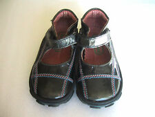 Girls Verde Oasi Euro Italy Boutique Mary Jane Dress Shoes Size 20 4-5