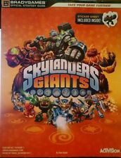 Skylanders Giants BradyGames Offical Strategy Game Guide with Stickers Inside
